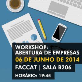 Workshop: Abertura de Empresas